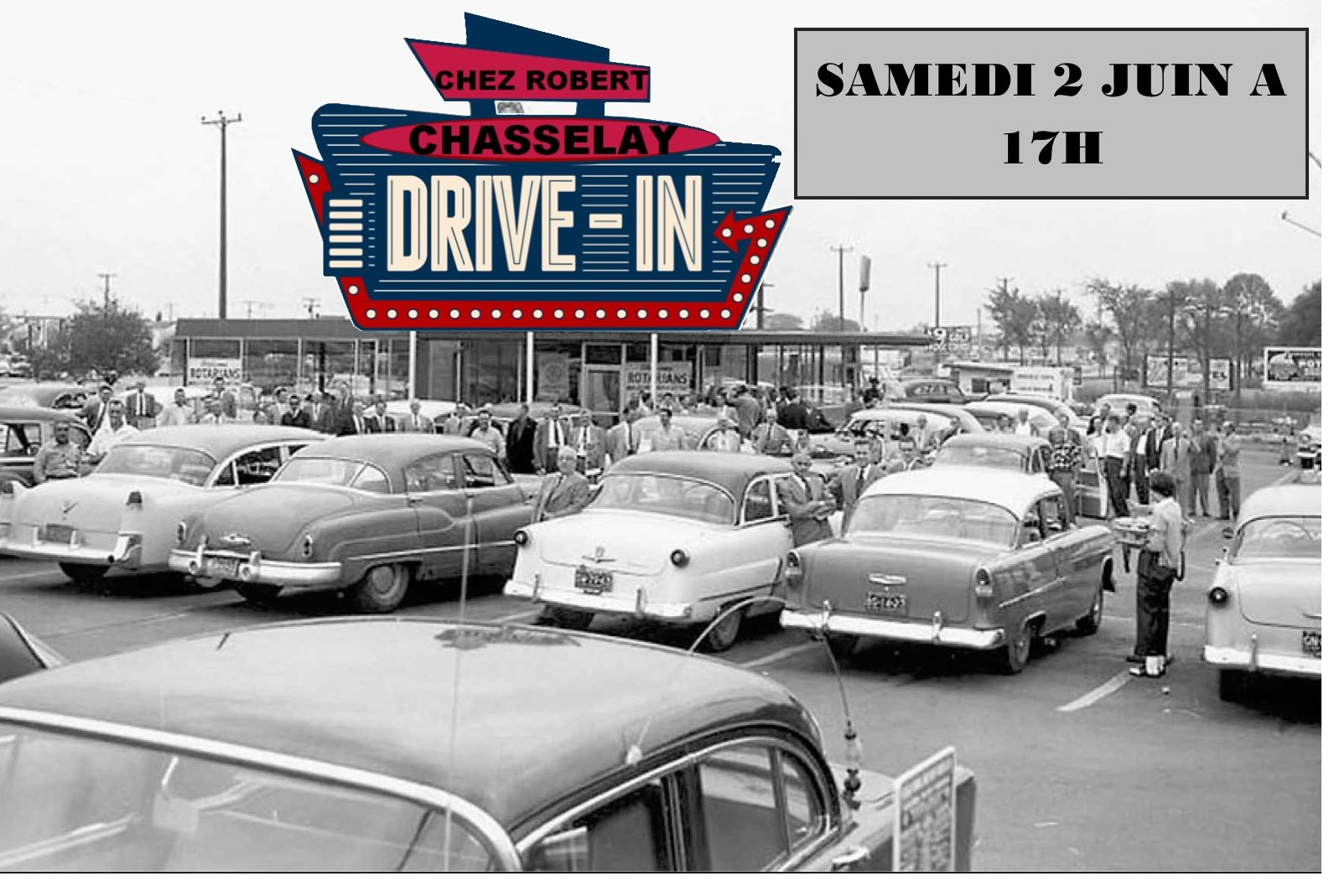 """""""DRIVE-IN"""" à CHASSELAY (69380)"""