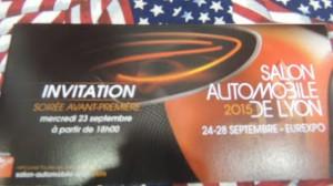 2015-09-23 : Salon de l'auto à Eurexpo CHASSIEU (69)